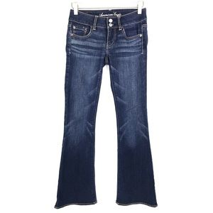 American Eagle AEO Artist Flare Stretch Jeans 00